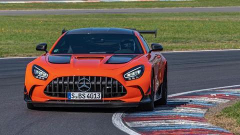 Prueba del Mercedes AMG GT R Black Series