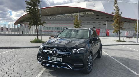 Prueba del Mercedes GLE 350 de por Madrid