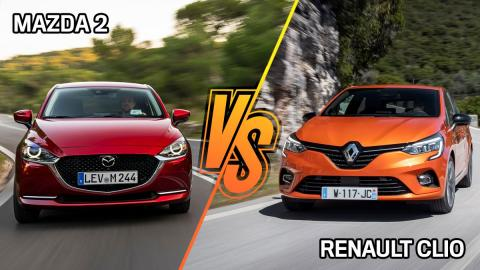 Renault Clio o Mazda2