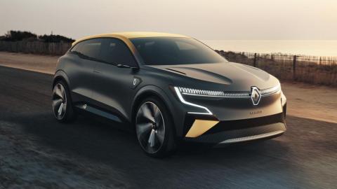 Renault Mégane e-Vision Mégane eléctrico