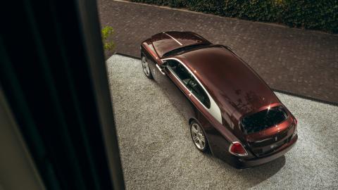 Rolls Royce Silver Spectre Shooting Brake de Niels van Roij