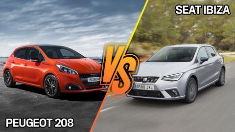 Seat Ibiza o Peugeot 208 segunda mano