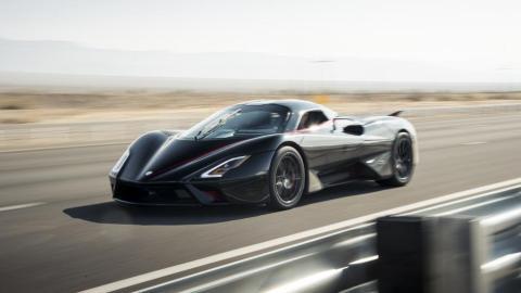 SSC Tatuara el coche más rápido del mundo