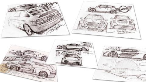 Bocetos de Frank Stephenson
