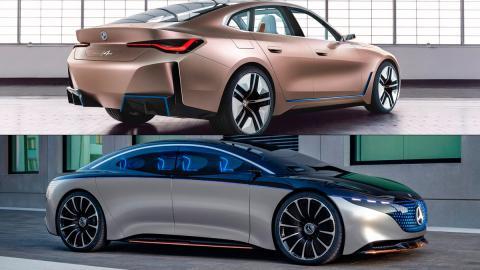 futuro coche tecnologia electrica i4 eqs