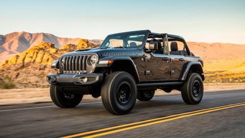 Jeep Wrangler Rubicon 392: un V8 bajo el capó