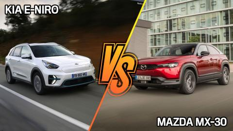 Kia e-Niro vs Mazda MX-30