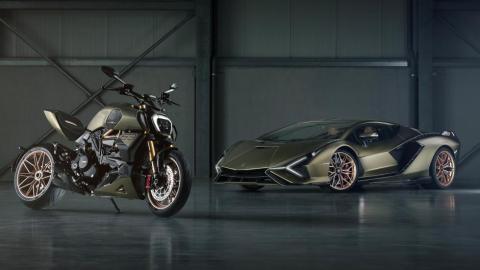 Lamborghini Sián Ducati