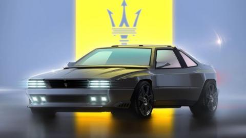Maserati Shamal restomod