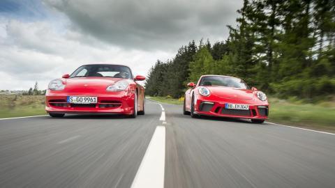 Porsche 911 GT3 RS 991 vs Porsche 911 GT3 RS 996