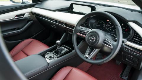 Prueba del Mazda 3 Skyactiv-X