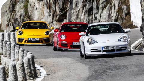 Todos los Porsche 911 GT3