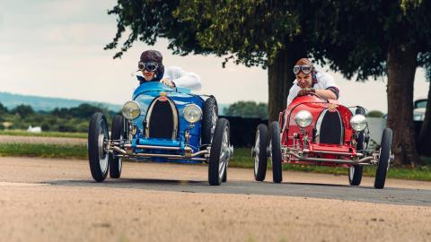 Las 2,4 Horas de Le Mans en eBugatti Baby II