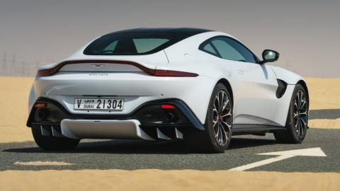 Aston Martin motores AMG