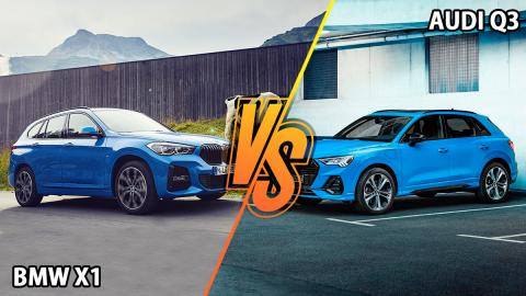 BMW X1 vs Audi Q3 mejor híbrido