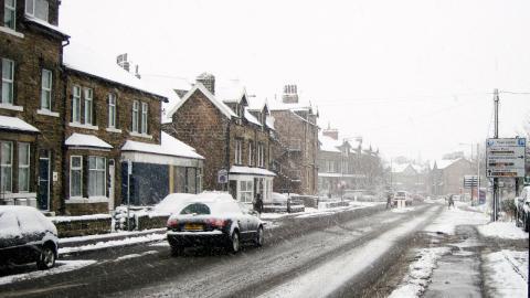 Conducir en invierno, conducir con nieve