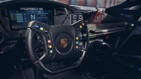Detalles del Porsche 911 GT3 Cup 992