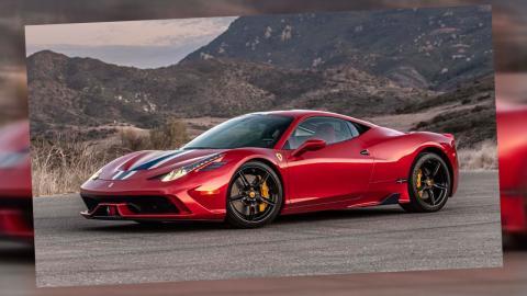 Ferrari 458 Speziale blindado