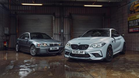 Así han evolucionado: BMW M3 CSL y BMW M2 CS