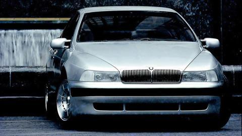 lujo sedan prototipo olvidado concept car