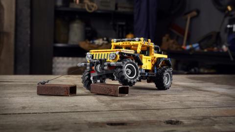 Jeep Wrangler Rubicon de Lego Technic