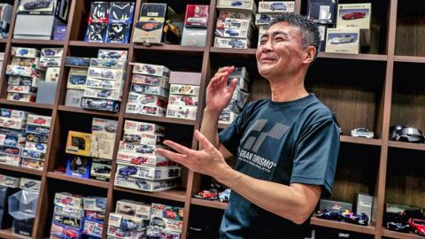 Kazunori Yamauchi es el creador del Gran Turismo