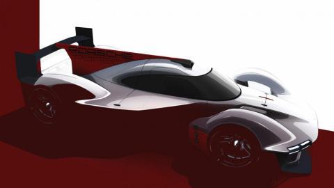 Porsche Le Mans LMDh teaser 2023