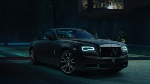 Rolls-Royce Wraith encriptado