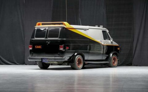 Se subasta la furgoneta de 'El Equipo A'