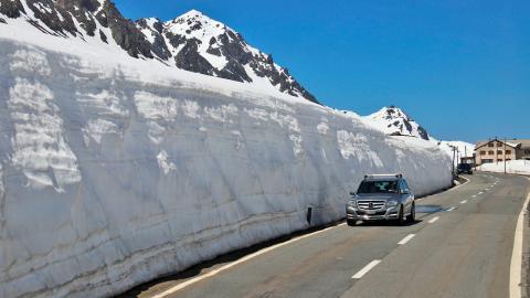 ¿Un asfalto que derrite la nieve?