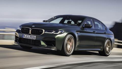 sedan deportivo lujo altas prestaciones berlina M motorsport verde