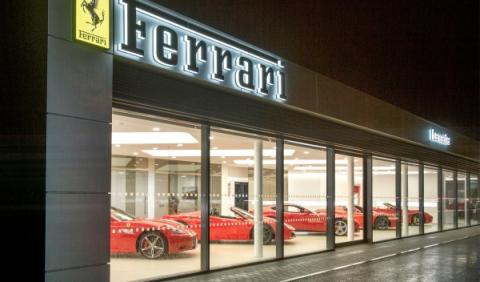Concesionario Ferrari