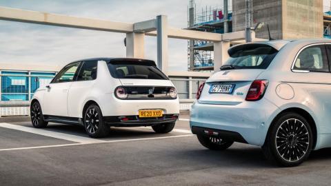 Fiat 500e vs Honda e
