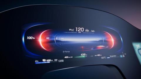 Hyperscreen de Mercedes. Pantalla digital de 141 cm