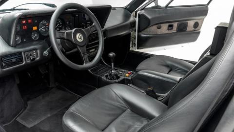 Interior del BMW M1 de Paul Walker