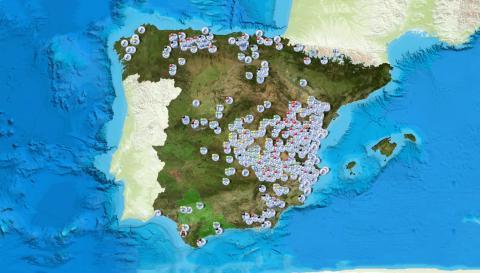 Mapa de España carreteras DGT