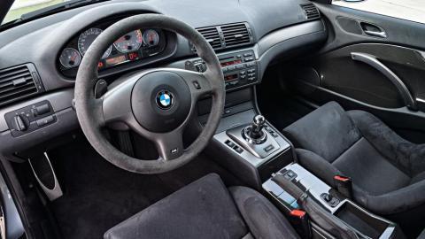 Prueba BMW M3 CSL. Interior