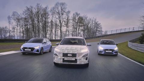 Prueba Hyundai Kona N en Bilster Berg
