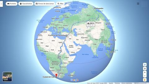 Carretera más largas del mundo