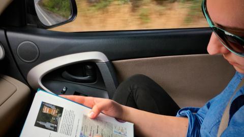 Copiloto en coche