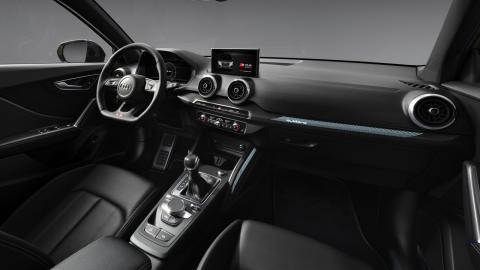 Interior del Audi SQ2 2021