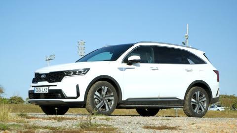 suv 7 plazas test drive blanco hibrido hybrid