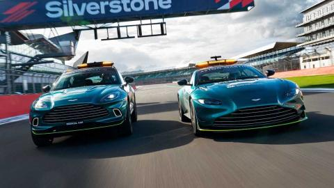 Aston Martin Vantage Safety car 2021