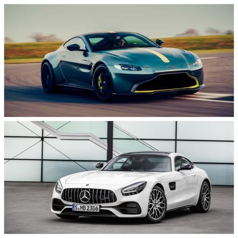 Aston Martin Vantage vs Mercedes-AMG GT