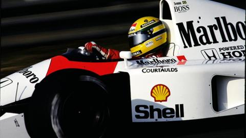 Ayrton Senna en McLaren