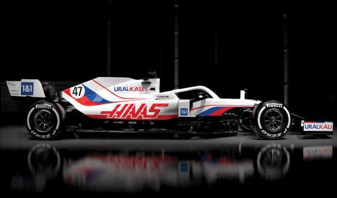 Coches Fórmula 1 temporada 2021