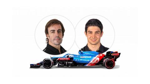Con Alonso en su vuelta a la F1