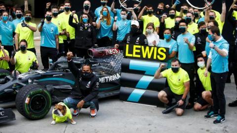 Lewis Hamilton Guía Fórmula 1