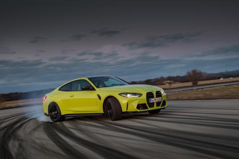 Prueba BMW M3 y M4 Competition