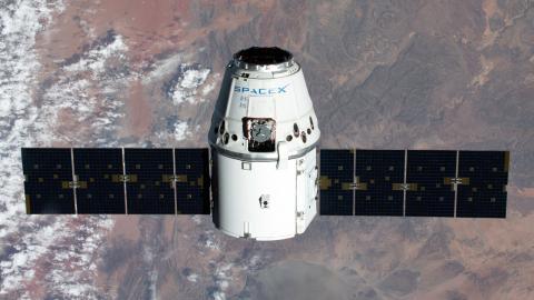 Un satélite SpaceX de Elon Musk